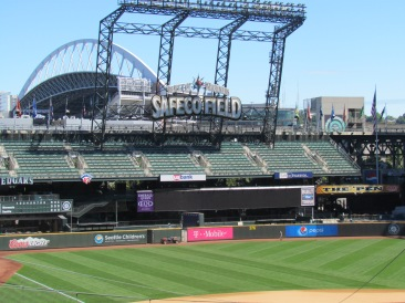 Safeco Field outfield