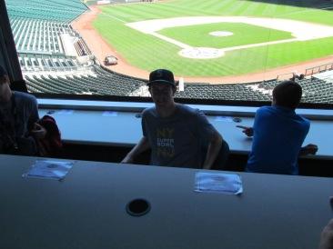 Me in the Press Box