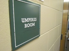 Umpires can be blind