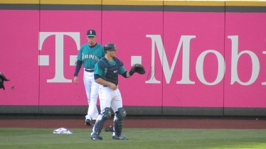Zunino and pitching coach