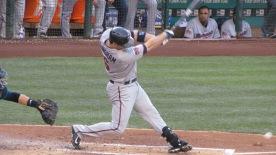 Former Marlin Josh Willingham bats
