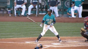 James Jones batting
