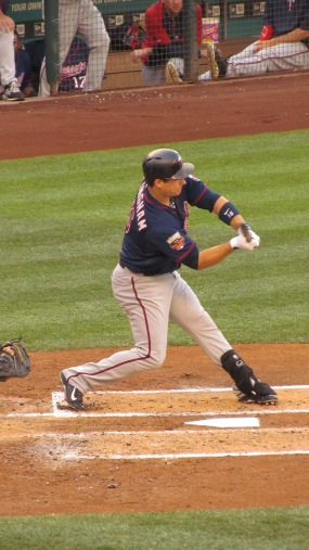 Josh Willingham (former Marlin) checks his swing