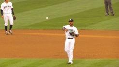 Robinson Cano at second base