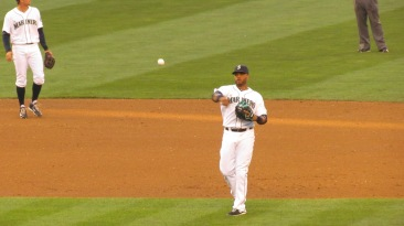 Robinson Cano at second base