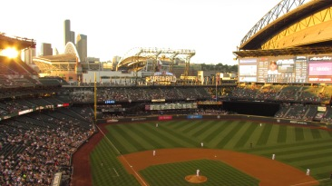 Safeco Field from the third deck