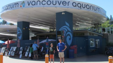 """Outside the Vancouver Aquarium used in the episode """"Six Feet Under the Sea"""""""