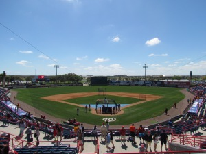 Space Coast Stadium in Viera, FL