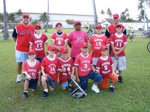 Kwaj Cardinals team