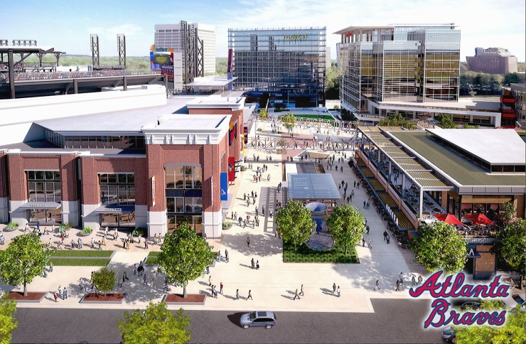 SunTrust Park development