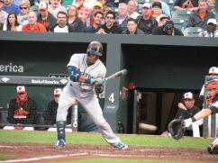 Robinson Cano batting