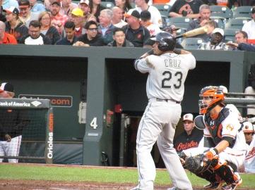 Nelson Cruz batting
