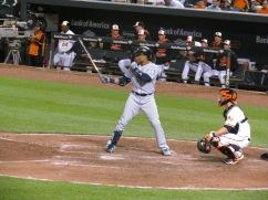Robinson Cano batting