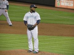 Fernando Rodney pitching
