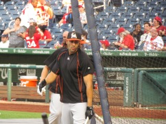 Michael Morse is a large man