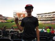 Cosart threw Joe a ball by the dugout