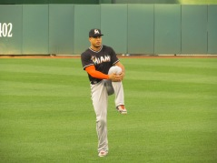 Giancarlo Stanton was kept at bay during the Marlins' loss