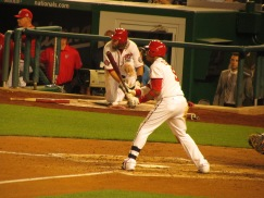 Yunel Escobar went 5-for-5 with the game winning RBIs