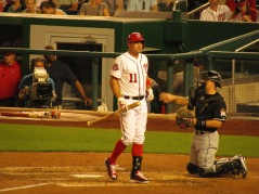 Ryan Zimmerman during a late at-bat
