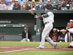 Nelson Cruz swinging