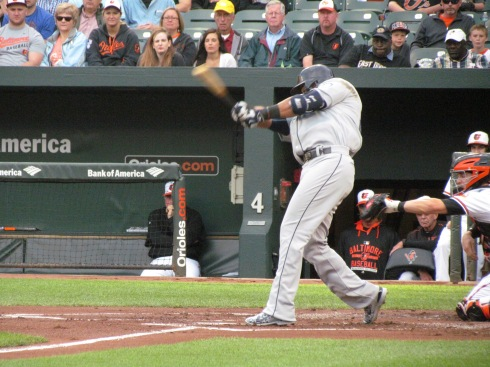Nelson Cruz swinging