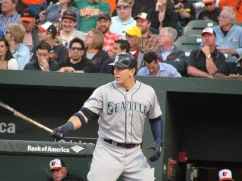 Logan Morrison batting