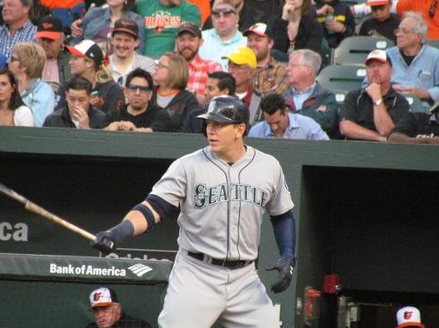 Logan Morrison batting