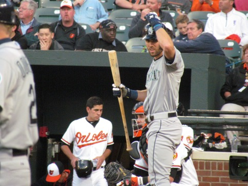 Chris Taylor batting