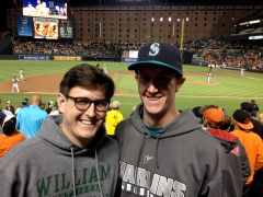 Me and Charlie at Oriole Park