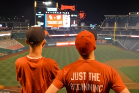 Paul and me looking out over Nats Park 8.7.15