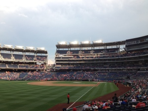 View from section 108
