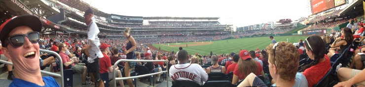 Panorama of Nats Park