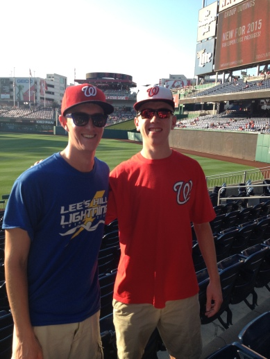 Steve and Paul at Nationals Park