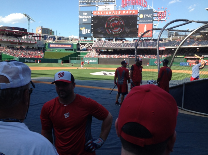 Dan Uggla at Nats Park