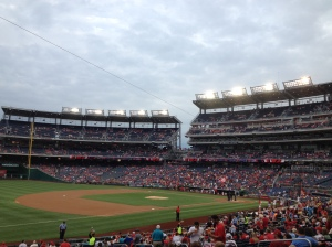 Nats Park Friday night
