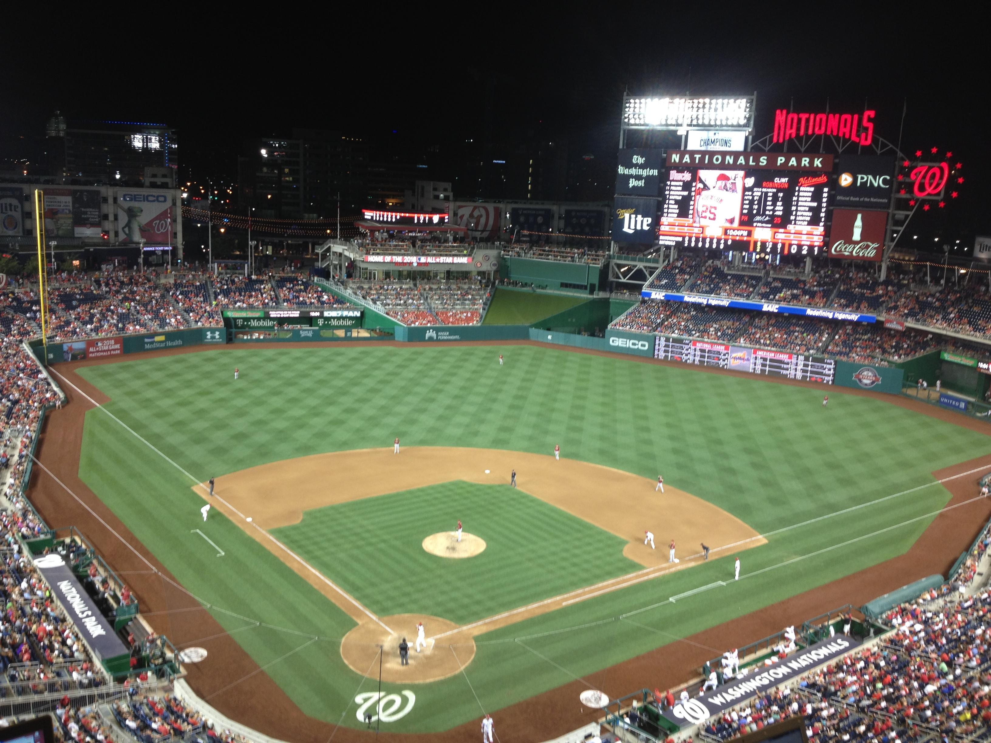 The Capital Conjecture Breaking Down Nationals Park Seating The