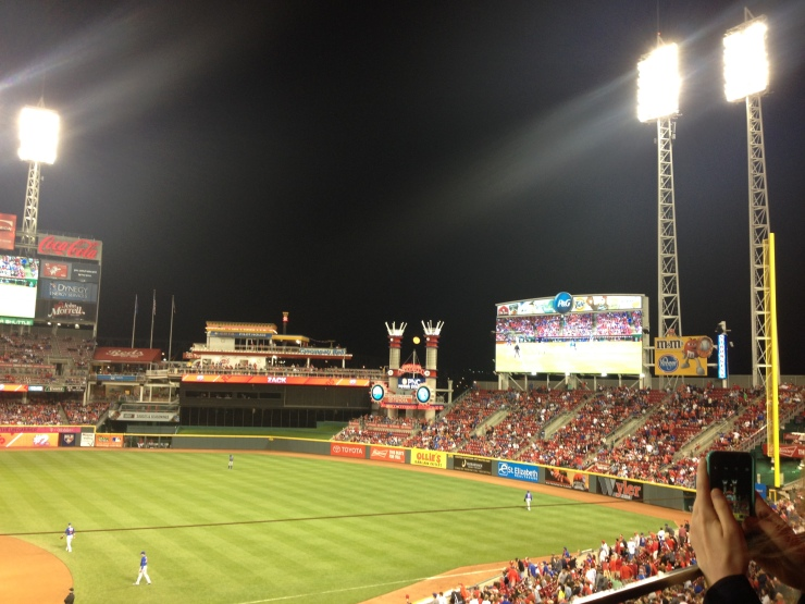 There was a full moon at GABP on 4.23