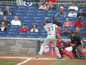 Giancarlo Stanton batting