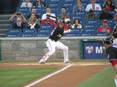 Bryce Harper batting