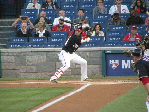 Bryce Harper batting