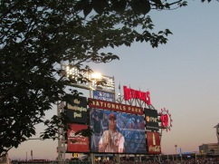Nationals Park jumbotron