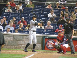 Ichiro batting