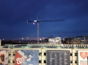 View of Capitol from Nats Park