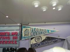 Marlins 1993 pennant