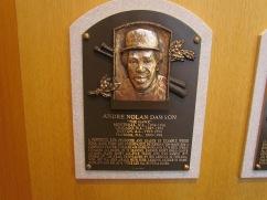 Andre Dawson plaque