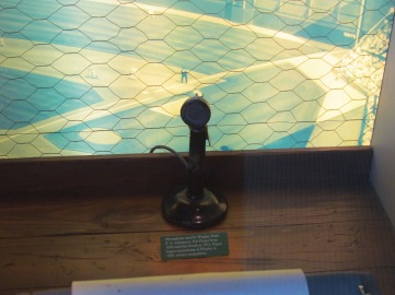 Marlins material in press box