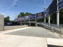 Outfield concourse