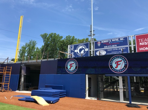 Left field wall