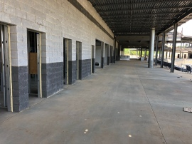 Empty concourse