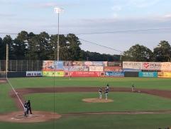 Infield view at Perdue Stadium